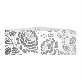 Vintage Flair - Silver - Foil Belly Band