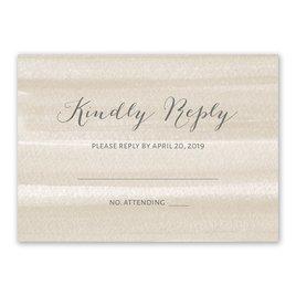 Sweet Serenity - Latte - Response Card
