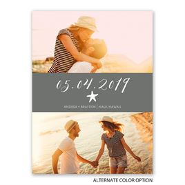 Sweet Serenity - Save the Date Card