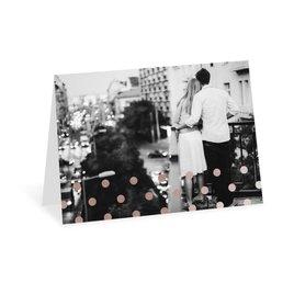 Hello Contempo - Rose Gold - Foil Thank You Card