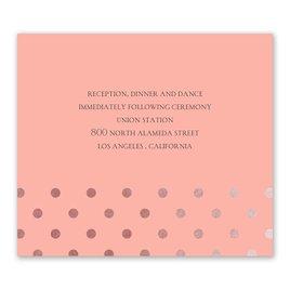 Hello Contempo - Rose Gold - Foil Information Card