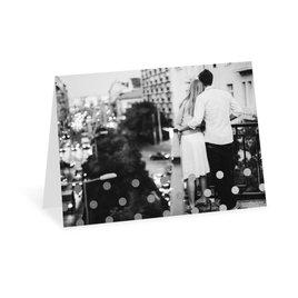 Hello Contempo - Silver - Foil Thank You Card