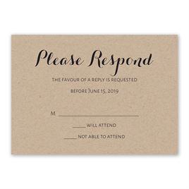 Truly Inviting - Response Card
