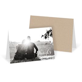 Modern Thank You Cards: Truly Inviting Thank You Card