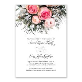 Ethereal Garden - Silver - Foil Invitation