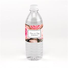 Wine and Water Bottle Labels: Ethereal Garden Water Bottle Label