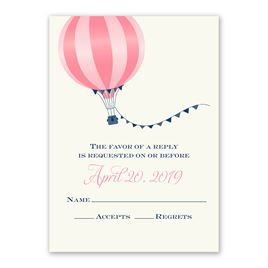 Love Is in the Air - Response Card