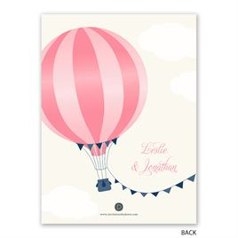Love Is in the Air - Petite Rehearsal Dinner Invitation