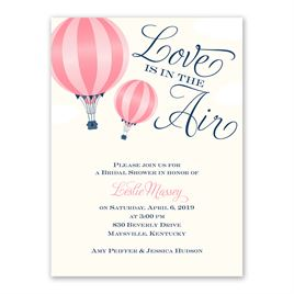 Love Is in the Air - Petite Bridal Shower Invitation
