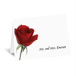 Rose Red - Note Folder and Envelope