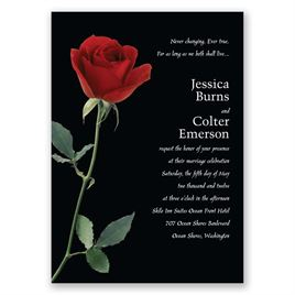 Rose Red - Invitation