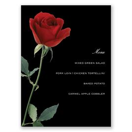 Wedding Menu Cards: 