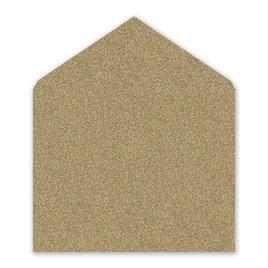 Gold: Gold Glitter Envelope Liner