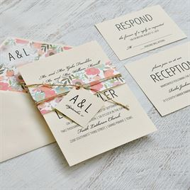 Pretty Floral - Envelope Liner