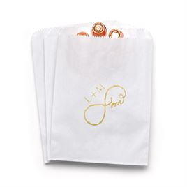 Love for Infinity - White - Favor Bags