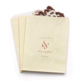 Modern Glow - Ecru - Favor Bags