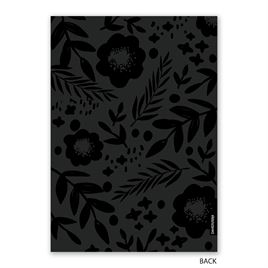 Joyful Florals - Foil Holiday Card