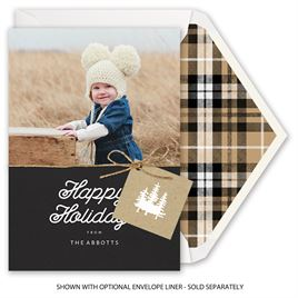 Elegant Outdoors - Holiday Card