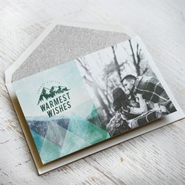 Winter Resort - Holiday Card