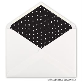 Contemporary Spots - Envelope Liner