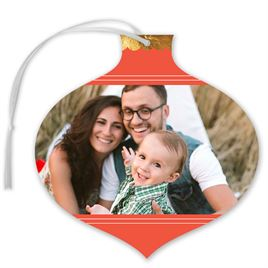 Ornamental - Foil Holiday Card