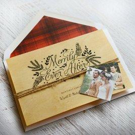 Lumberjack Red - Designer Envelope Liner