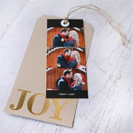 JOY - Foil Holiday Card