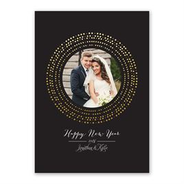 Shine Bright - Foil Holiday Card