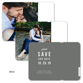 Date to Remember - Save the Date Flip Book