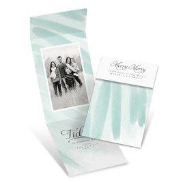 Good Tidings - Mint - Fold Up Holiday Card