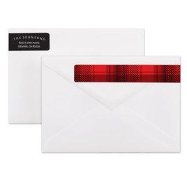 Holiday Address Labels: Northwoods Address Label