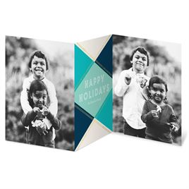 Holiday Gem - Blue - Holiday Card