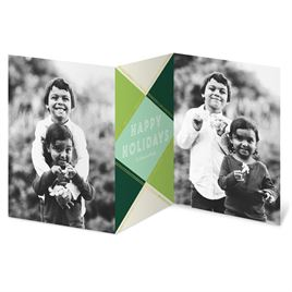 Holiday Gem - Green - Holiday Card