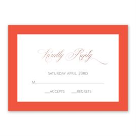 Love Believes - Rose Gold - Foil Response Card