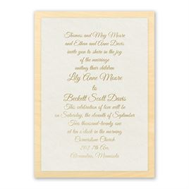 elegant wedding invitations natural luxury real wood invitation with foil - Fancy Wedding Invitations