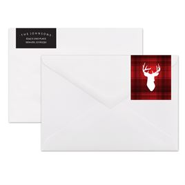 Northwoods Buck - Address Label