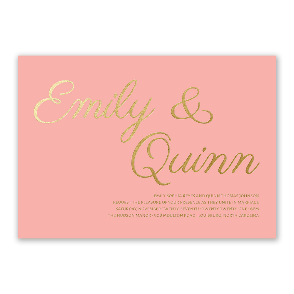 pink wedding invitations invitations by dawn