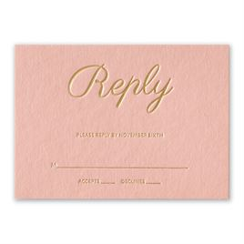 Simply Devoted - Foil Response Card