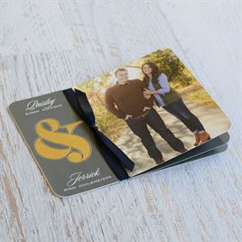 Always Together - Foil Invitation Flip Book