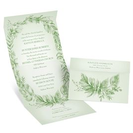 Naturally Delicate - Seal and Send Invitation