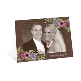 Woodland Floral - Thank You Card