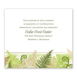 Botanical Beauty - Gold - Foil Information Card