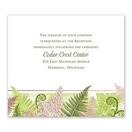 Botanical Beauty - Rose Gold - Foil Information Card