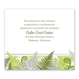Botanical Beauty - Silver - Foil Information Card