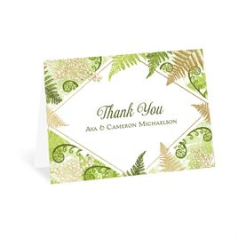Botanical Beauty - Gold - Foil Thank You Card