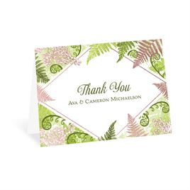 Botanical Beauty - Rose Gold - Foil Thank You Card