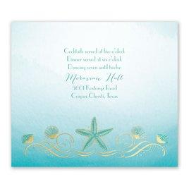 Shoreline - Gold - Foil Information Card
