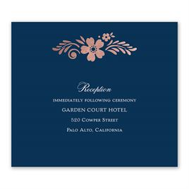 Brilliant Boho - Rose Gold - Foil Information Card