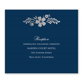 Brilliant Boho - Silver - Foil Information Card