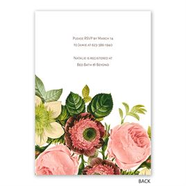 Love Blooms - Bridal Shower Invitation